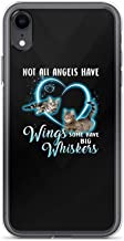 Compatible for 6 Plus/6S Plus - Not All Angels Have Wings Some Have Whiskers - Cute Cat Full Protective Slim Cover