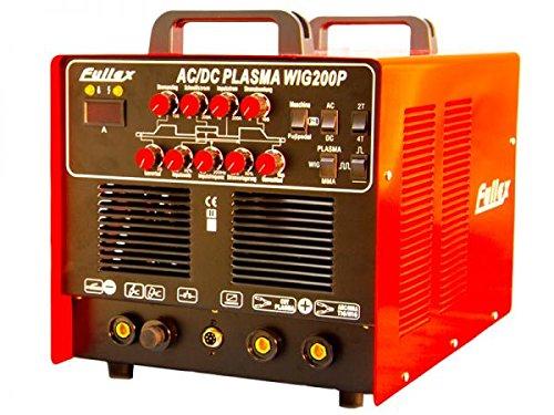 AC/DC WIG 200 Puls mit Plasmaschneider ALUMINIUM/STAHL/EDELSTAHL/KUPFER - MIT ALU & PULSFUNKTION