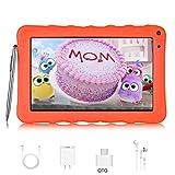 Tablet per Bambini 9 '' DUODUOGO G22 Android 9.0 Tablet Quad Core 3GB RAM 32GB ROM/Fino a 64GB Google GMS 1024 * 600 IPS 6000mAh Doppia Fotocamera Educazione Allo Spettacolo WIFI Tablet (9'', Arancia)