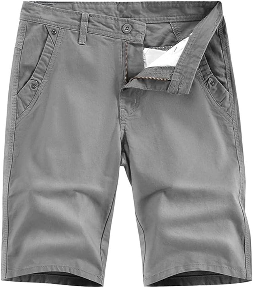 NP Men's Shorts Casual Short Multi Summer Work Short Pants