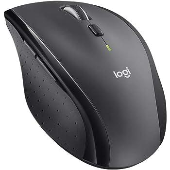 ロジクール M705m ワイヤレスマウス 無線 マウス Unifying 7ボタン 高速スクロール 電池寿命最大36ケ月 チャコール windows mac chrome 国内正規品 3年間無償保証