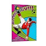 JINLIGSLY Wayne Rooney Overhead Kick Poster, dekoratives