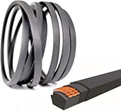 "QIJIA Lawn Mower Drive Belt 1/2"" x 118"" for MTD/Cub Cadet 754-04033, 754-04033A, 954-04033, 954-04033A"