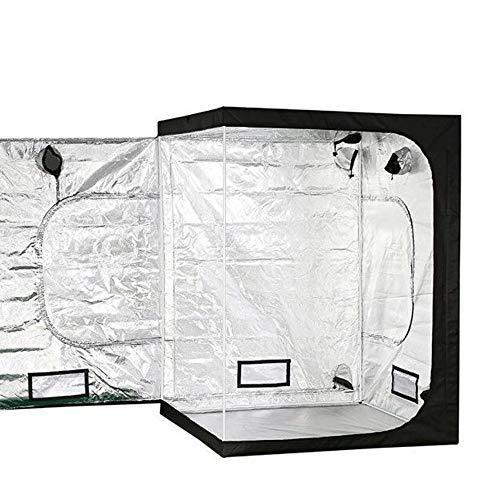G/j/f 600D / Innen-Gewächshaus, mit Kronleuchter Indoor Hydroponics Growing Systems Ventilated Zelt wachsen Geeignet for Blumen und Gemüse / 150 × 150 × 200cm
