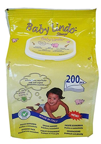 Baby Lindo Pop-Up Toallitas infantiles - 200 Toallitas
