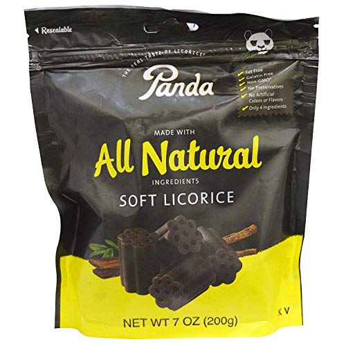 Panda All Natural Soft Licorice, 7 Oz. (Pack of 2 )