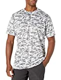 Augusta Sportswear Men's camo Wicking t-Shirt, White Digi, X-Large