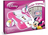 Multiprint Macchina per Adesivi Disney Minnie, Made in Italy, 7 Timbri, Album con Pennarelli, Set Timbrini Bimbi, in Legno e Gomma Naturale, Inchiostro Lavabile Atossico, Idea Regalo, Art.08866