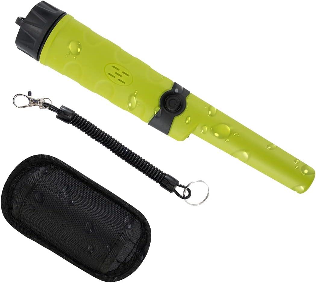 DEWINNER Metal Detector, Fully Water-Proof IP68 Search Pin-Point