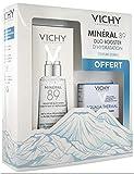 Vichy Minéral 89 Fortificante y Replumping Daily Booster 50 ml + Aqualia crema ligera térmica de 15 ml gratis