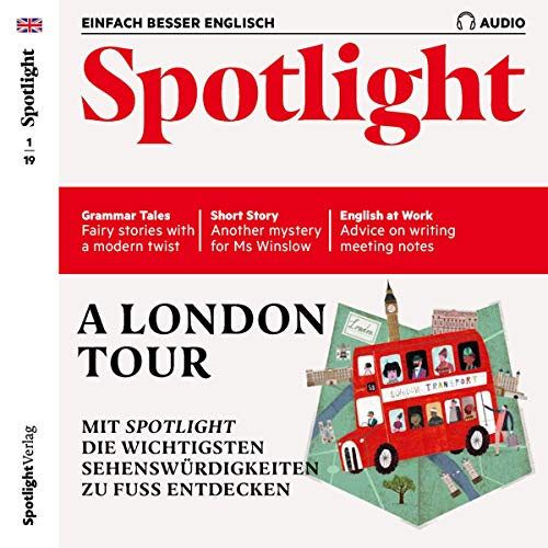 Spotlight Audio - A London tour. 1/2019 Titelbild