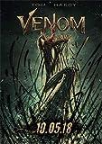 ZYAAO Venom, Cartel de película de guardián Mortal, Pegatina Decorativa Vintage para Pared, póster Retro, póster de Papel Kraft,30X21CM