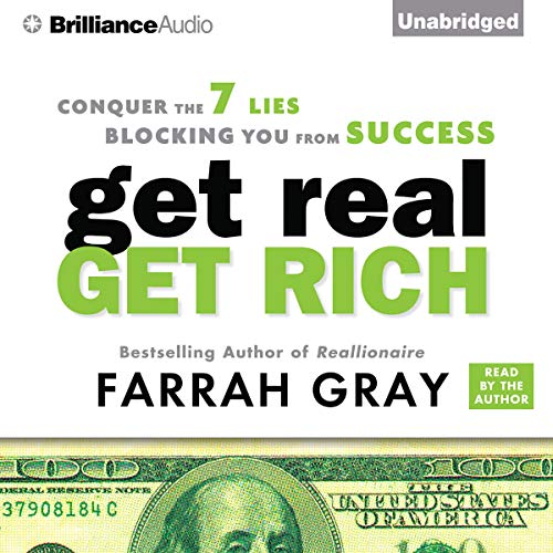 Get Real, Get Rich audiobook cover art