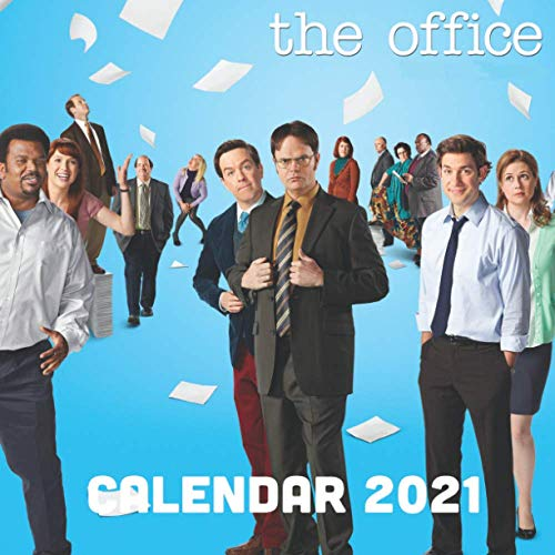 The Office: 2021 Wall Calendar - Large 8.5' x 17' When Open - 12 Months