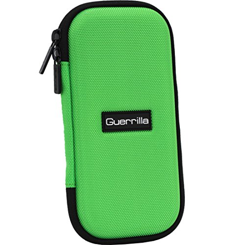 Guerrilla Hard Travel Case for TI-30X llS, TI BA ll Plus, TI-34 Multi View, TI-36X Pro, TI BA ll Plus Professional, and TI-30XS multi view Calculators, Green