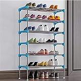 DAFEICHUAN Los estantes de Almacenamiento de Metal sostienen hasta 10-20 Pares de Zapatos, Perchero, para Sala de Estar, Entrada, Pasillo y guardarropa (Color: Rosa, tamaño: 582794cm)
