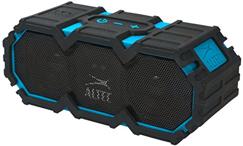 Altec Lansing iMW575 Life Jacket 2 Bluetooth Speaker Waterproof Wireless Bluetooth Speaker, Hands-Free Extended Battery Outdoor Speaker, Ultra-Portable 10ft Range, Blue
