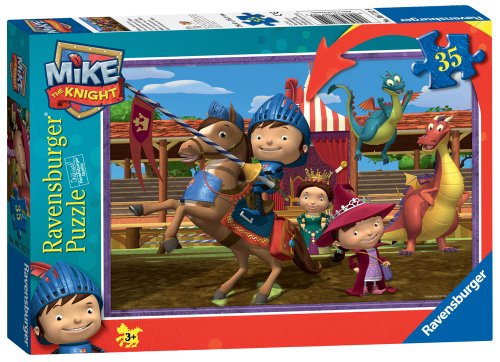 Ravensburger Mike The Knight 35 Piece Jigsaw