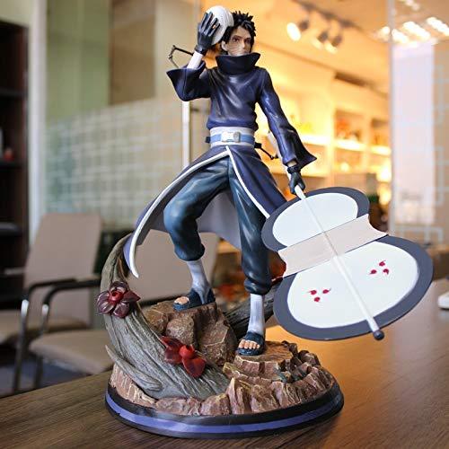 Liiokiy Anime Figura Figuras de acción Naruto Figuras de acción Shippuden Anime ACCIÓN Figura Modelo Uchiha Obito PVC 31 cm Estatua Coleccionable Animaciones de juguete Arte Modelo de caracteres en ca