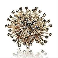 シュッコンカスミソウブローチハイエンドファッション服ピンチェコダイヤモンドレディースコサージュ