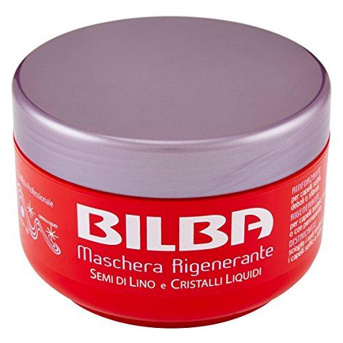 Bilba Maschera Rigenerante Semi di Lino e Cristalli Liquidi - 400 ml