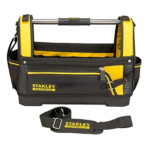 Stanley FatMax Werkzeugtrage, 48x33x22cm, 600 Denier Nylon, wasserdichter Kunststoffboden, ergonomischer Gummigriff, Rahmen stahlverstärkt, verstellbarer Schultergurt, 1-93-951 - 4