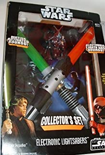Star Wars Throne Room Duel Electronic Lightsaber Set Exclusive Luke Skywalker VS Darth Vader