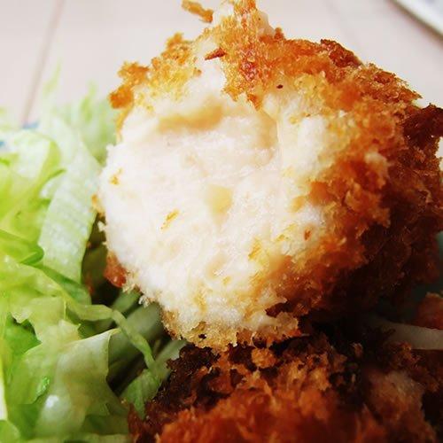 【3パックセット】鮭チーズコロッケ480g(大サイズ80g×6個)[冷凍]