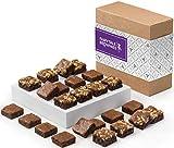 Fairytale Brownies Sugar-Free Magic Morsel 24 Gourmet Chocolate Food Gift Basket - 1.5 Inch x 1.5...