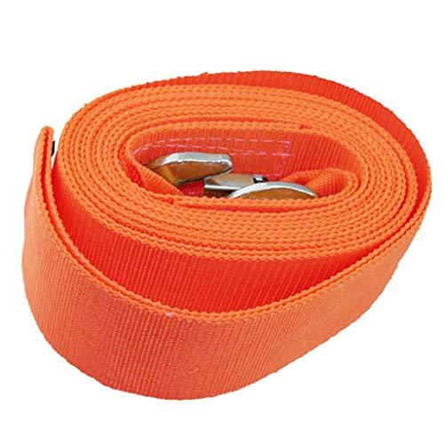 AJZXHE Cuerdas de Remolque Cuerda de Remolque, de Servicio Pesado Remolque 8000kg, con un Anillo de Refuerzo de Remolque Las Cuerdas de Remolque