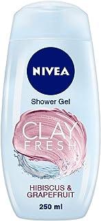 Nivea Clay Fresh Hibiscus & Grapefruit Shower Gel (250ml)