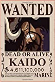 Kaido Wanted OnePiece : Notebook Anime: Great for Journal - Notebooks With Beautiful cover