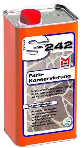 Moeller Stone Care S242 Couleur Plus - hydrofuge- imprégnation spéciale prête à l'emploi 1,0 litre