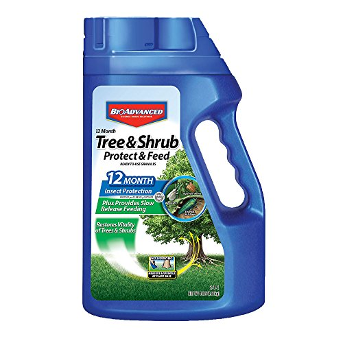 Bayer Advanced 701900 12 Month Tree and Shrub Protect and Feed Granules, 4-Pound (NY Formula) (Siem Logging Best Practices)