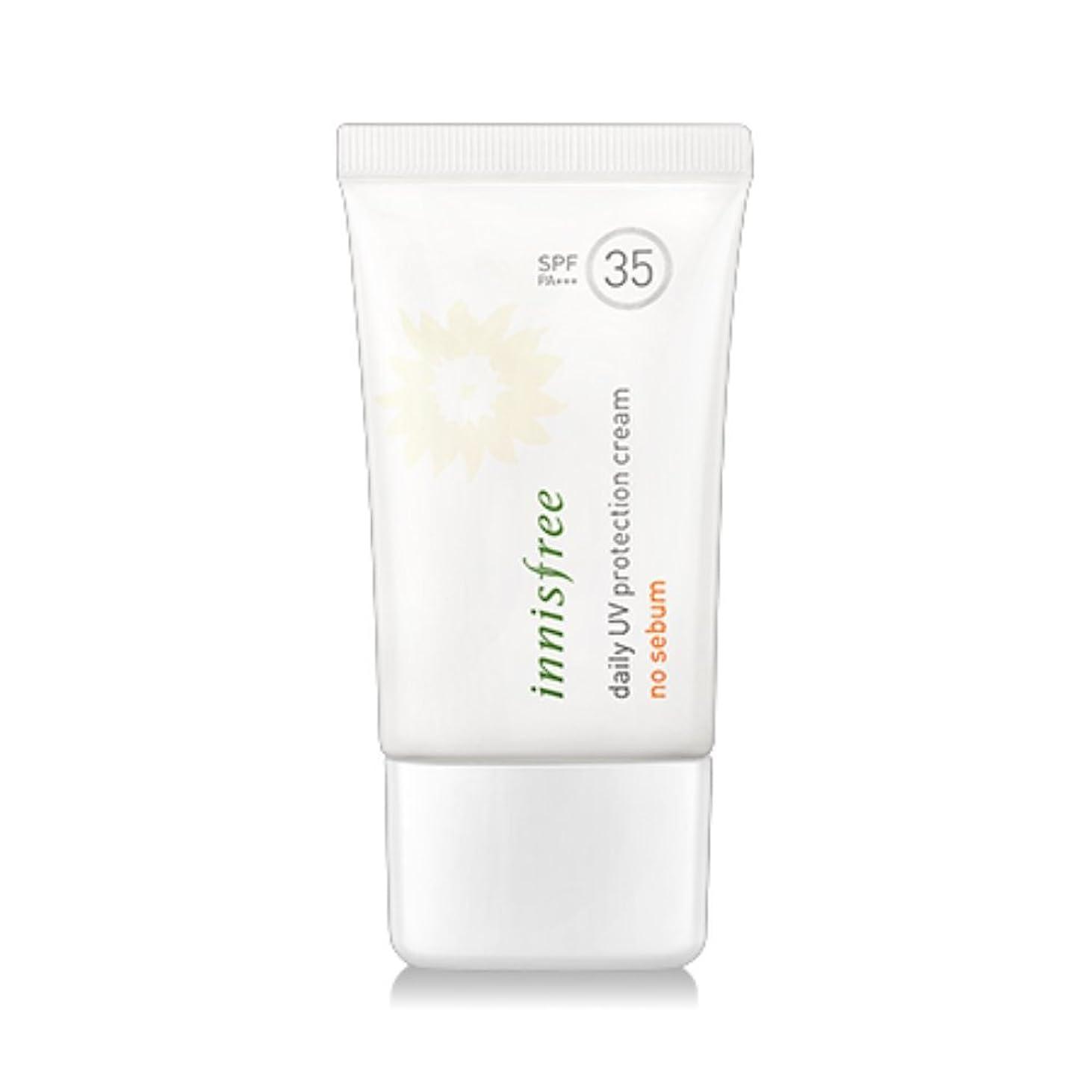 明日ステーキフルーツ[New] innisfree Daily UV Protection Cream No Sebum (SPF35 PA+++) 50ml/イニスフリー デイリー UV プロテクション クリーム ノーシーバム (SPF35 PA+++) 50ml