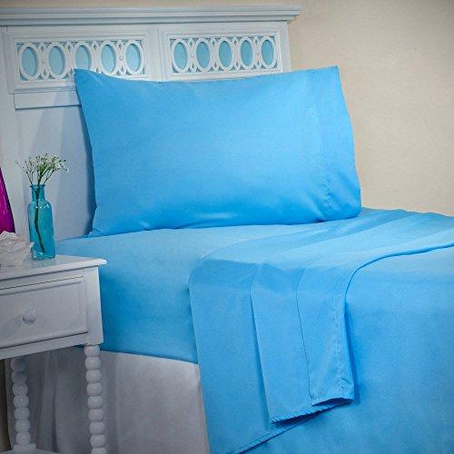 Somerset Home Series 1200 3-Piece Twin Sheet Set, Blue, TwinXL