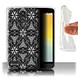 Phone Case for LG L Bello/D331 Black Fashion Abstract