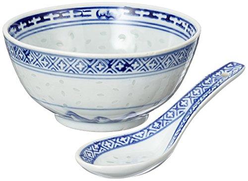 Non Food NF Reiskorn blau & Löffel Set, 6er Pack