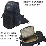 HAZARD4 (ハザード4) Freelance(フリーランス) 一眼レフ・大型ミラーレスカメラ用スリングバッグ 日本正規品 (ブラック)