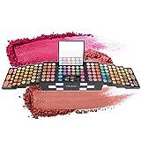 Completo Paleta de Maquillaje 142 Colores Juego de Maquillaje - Sombras de Ojos Set Caja de Maquillaje de Regalo con Corrector Rubor Sombra de Ojos Cosmético Estuche Maquillaje Set para mujeres