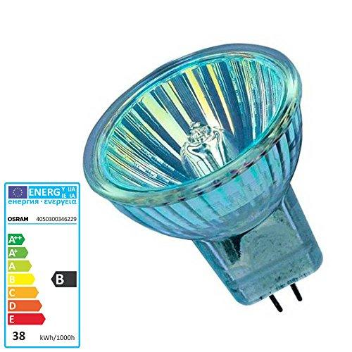 Halogenlampe GU4 12 Volt 35 Watt 10 Grad Spot 44892SP - Osram