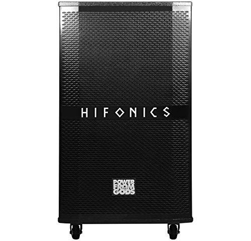 Hifonics EB115AV2 Portables Soundsystem für Events MOBILES AKTIV-Soundsystem FÜR Indoor & Outdoor & CAR Betrieb