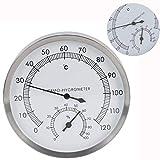 【2021 Promoción de año nuevo】Sala de sauna con termómetro, sala de vapor de acero i...