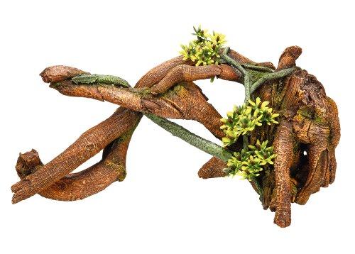 Nobby Mangrove met planten Aquarium Ornamenten, 32.7 x 13 x 16,5 cm