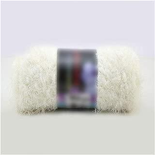 Craft Double Knitting Milk Velvet Crochet Coral Mink Cashmere Yarn Long Hair Down Feather Wool Yarn Ball,22