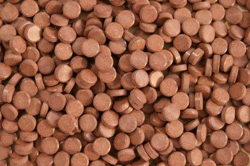 Aquaristik-Paradies Cichliden Tabletten 200 g (ca. 250 ml) - verwendbar als Haft- und Bodentabletten