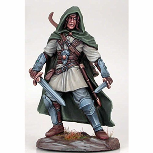 Young Hedge Knight Dual Wield Miniature George R.r. Martin Masterworks Dark Sword Miniatures