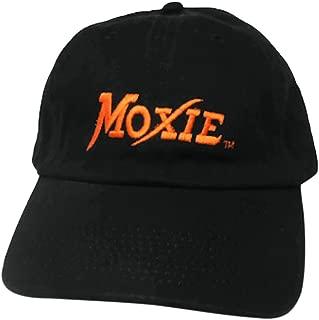 Adjustable dad Cap Mens Fashion Strapback Hat Moxie-Drink-Logo