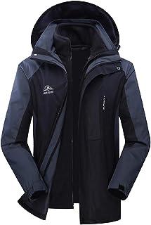 XINHEO Men's Multi-Way Fully Taped Seams Windbreaker Ski Jacket