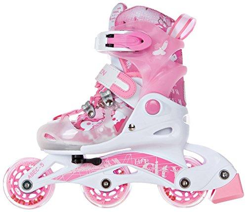 RAVEN 05902276600005 Princess - Patines Infantiles en línea (Talla XS), diseño de Princesa Color Rosa